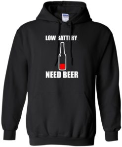image 187 247x296px Low Battery Need Beer T Shirts, Hoodies, Tank Top