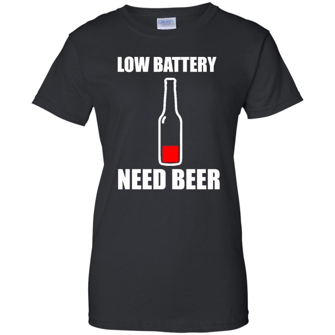 image 190px Low Battery Need Beer T Shirts, Hoodies, Tank Top