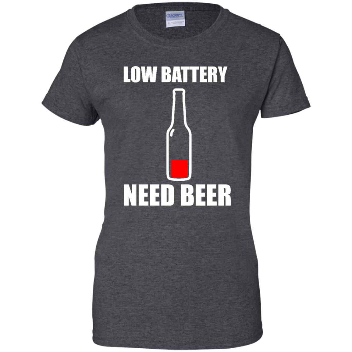 image 191px Low Battery Need Beer T Shirts, Hoodies, Tank Top