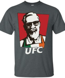 image 205 247x296px Conor Mcgregor UFC KFC Logo T Shirts, Hoodies, Tank Top