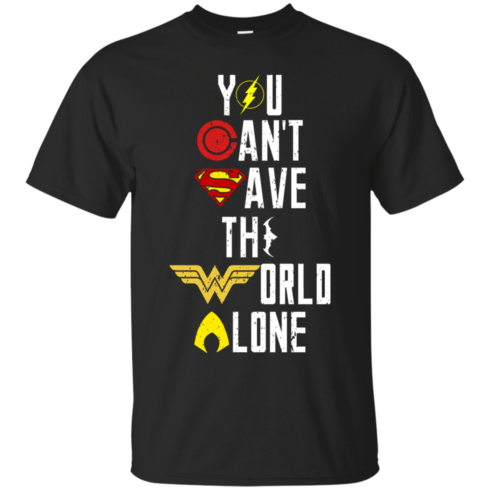 image 23 490x490px Justice League: You Can Save The World A Lone T Shirts, Hoodies, Sweaters