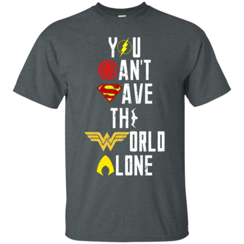 image 24 490x490px Justice League: You Can Save The World A Lone T Shirts, Hoodies, Sweaters