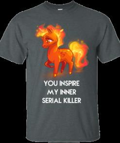 image 255 247x296px Unicorn You Inspire My Inner Serial Killer T Shirt, Hoodies, Tank