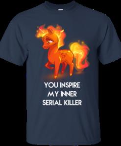 image 256 247x296px Unicorn You Inspire My Inner Serial Killer T Shirt, Hoodies, Tank