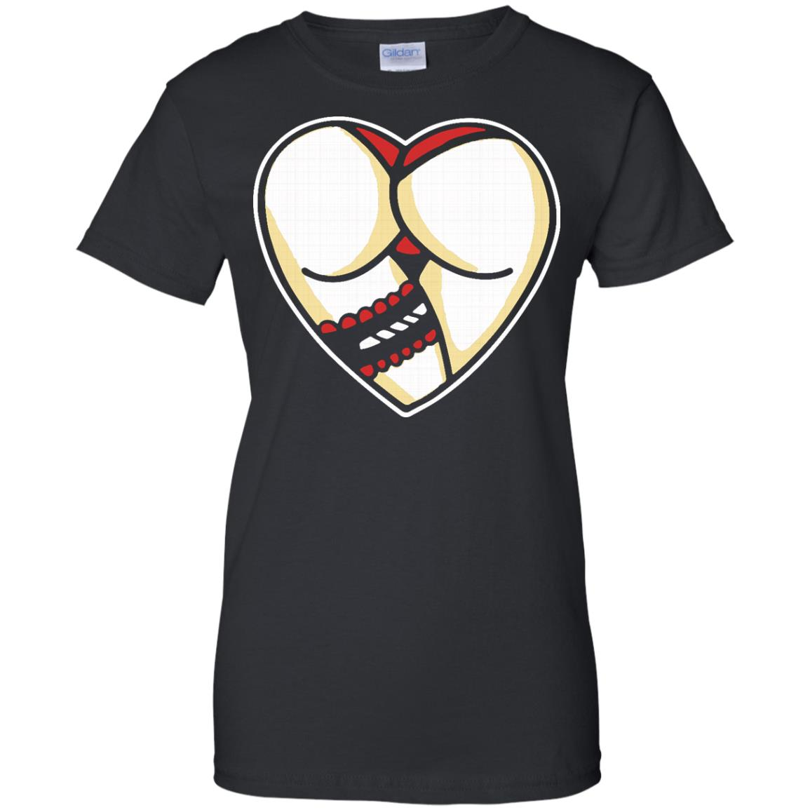 image 256px I Love Booty Booty Heart T Shirts, Hoodies, Tank Top