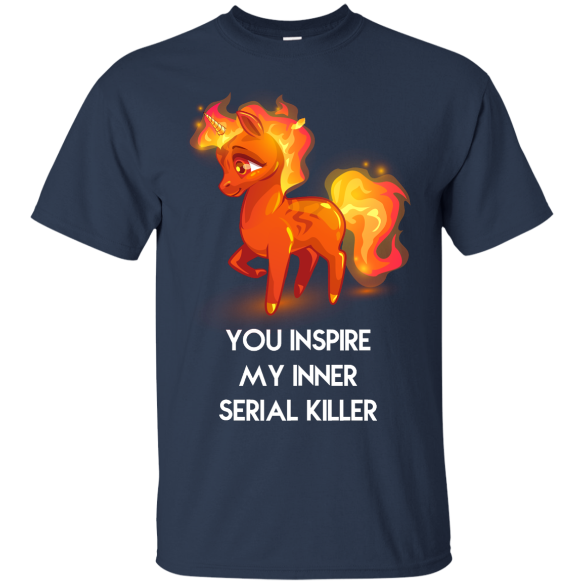 image 256px Unicorn You Inspire My Inner Serial Killer T Shirt, Hoodies, Tank