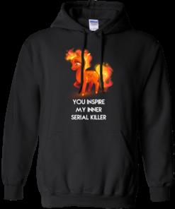 image 259 247x296px Unicorn You Inspire My Inner Serial Killer T Shirt, Hoodies, Tank