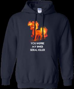 image 260 247x296px Unicorn You Inspire My Inner Serial Killer T Shirt, Hoodies, Tank