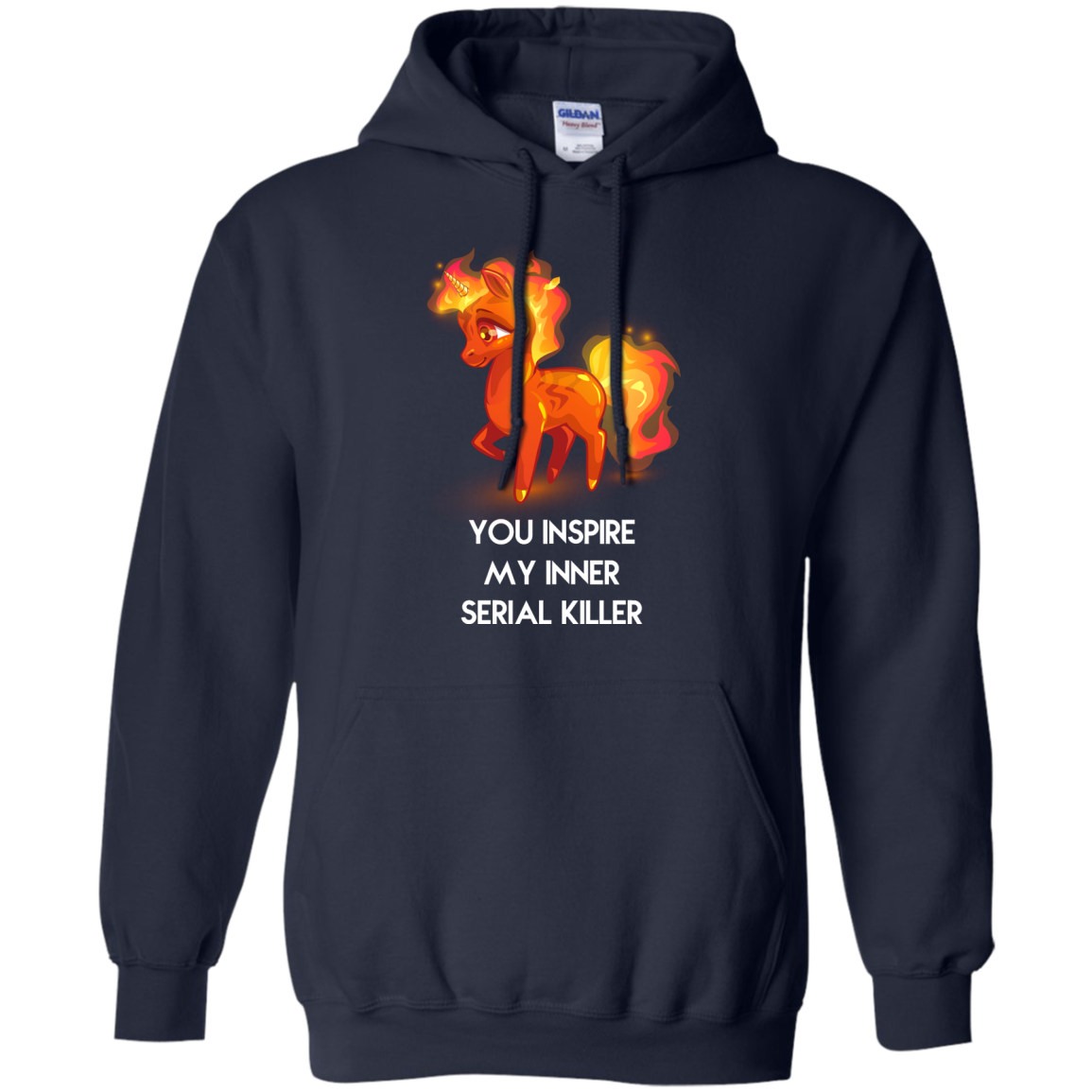 image 260px Unicorn You Inspire My Inner Serial Killer T Shirt, Hoodies, Tank
