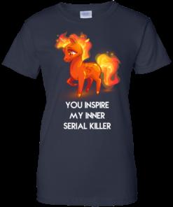 image 264 247x296px Unicorn You Inspire My Inner Serial Killer T Shirt, Hoodies, Tank
