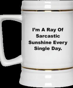 image 267 247x296px I'm A Ray Of Sarcastic Sunshine Every Single Day Coffee Mug