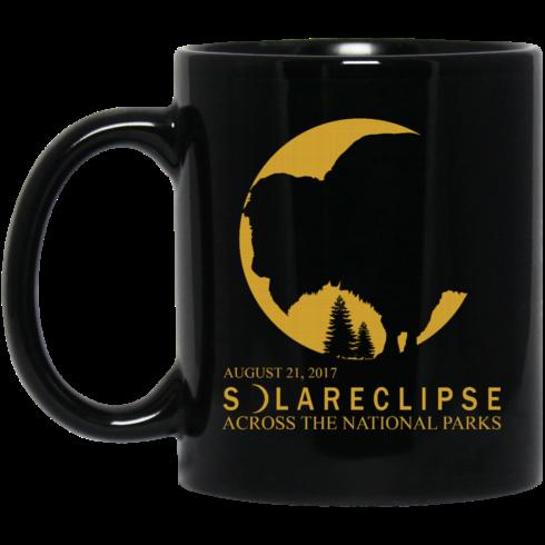 image 270 490x490px Solar Eclipse August 21 2017 Across National Parks Coffee Mug