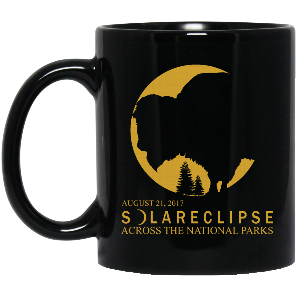 image 270px Solar Eclipse August 21 2017 Across National Parks Coffee Mug