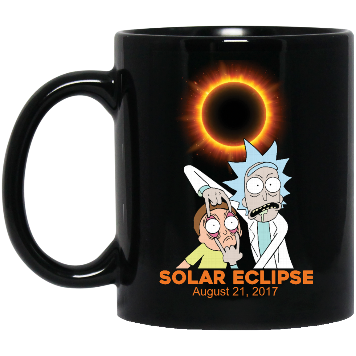image 274px Rick and Morty Total Solar Eclipse August 21 2017 Coffee Mug