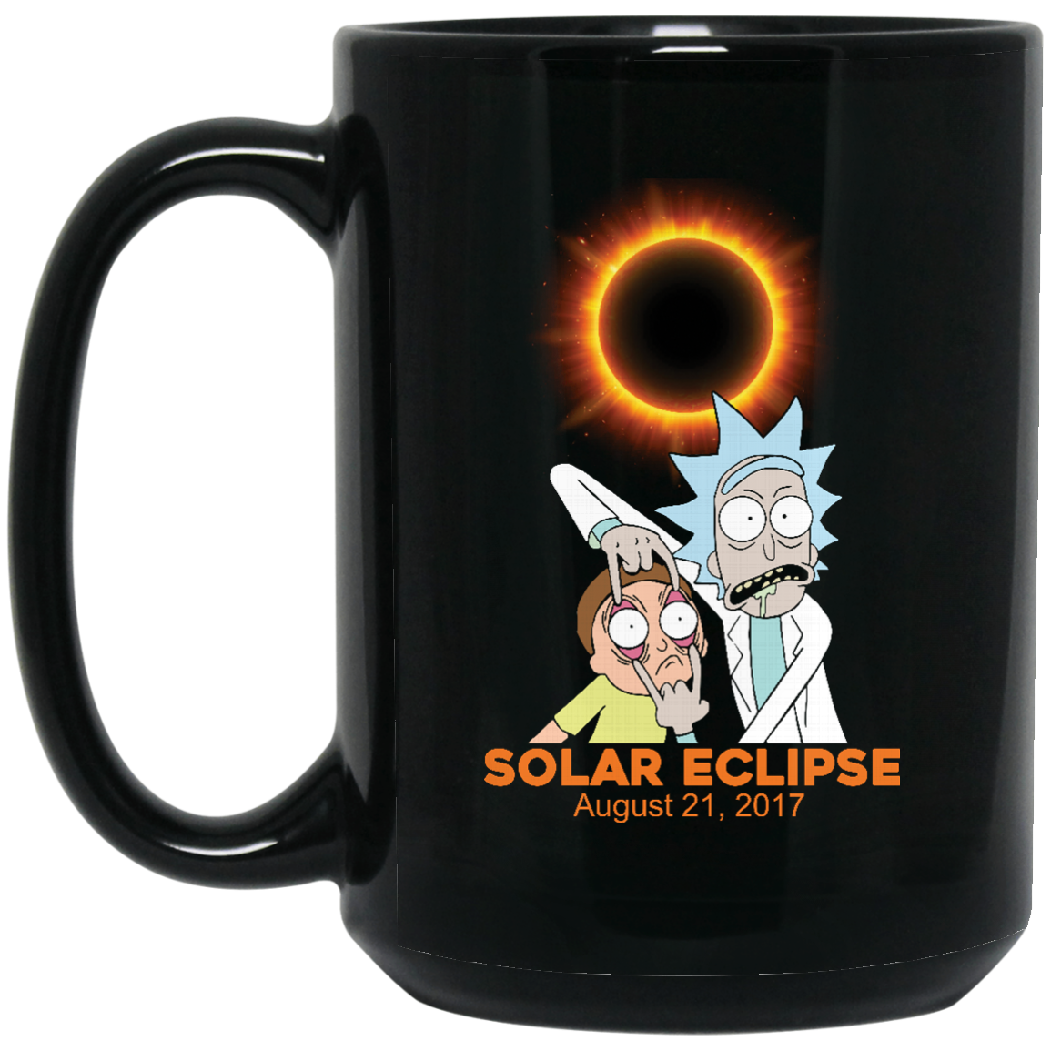 image 275px Rick and Morty Total Solar Eclipse August 21 2017 Coffee Mug