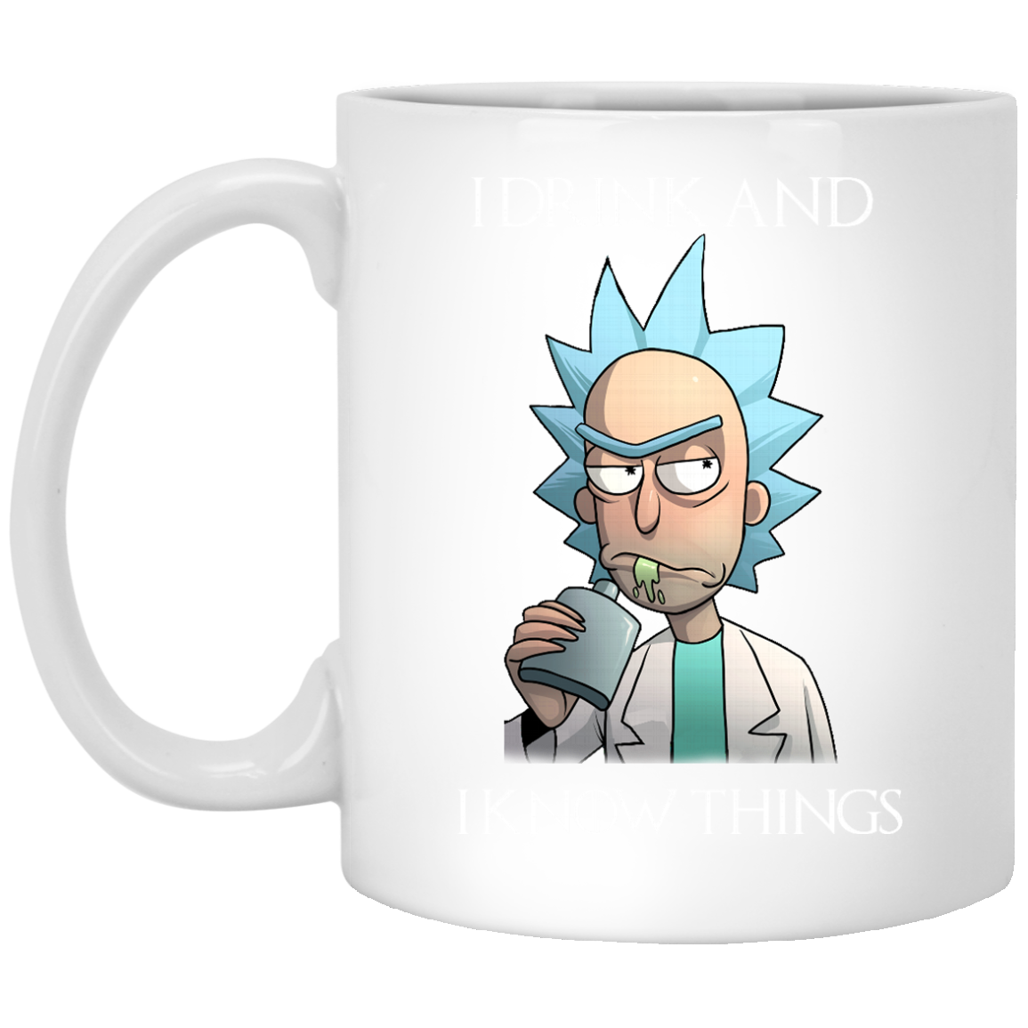 image 276px Rick and Morty I Drink and I Know Things Coffee Mug