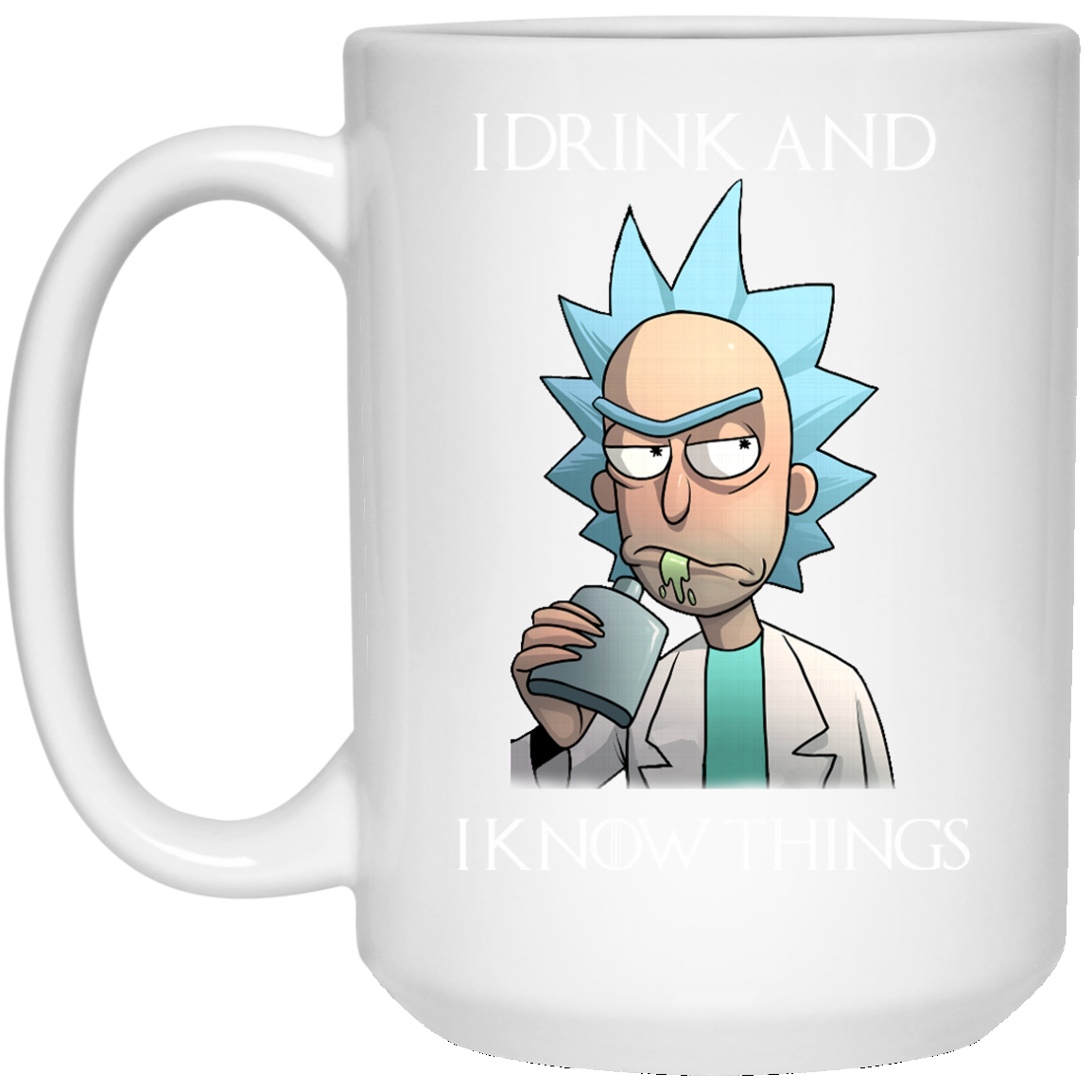 image 277px Rick and Morty I Drink and I Know Things Coffee Mug