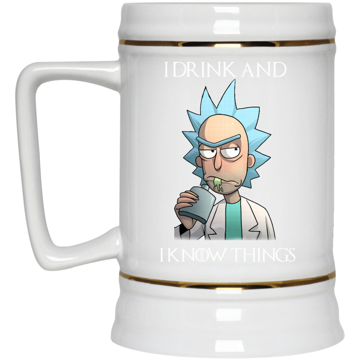 image 278px Rick and Morty I Drink and I Know Things Coffee Mug