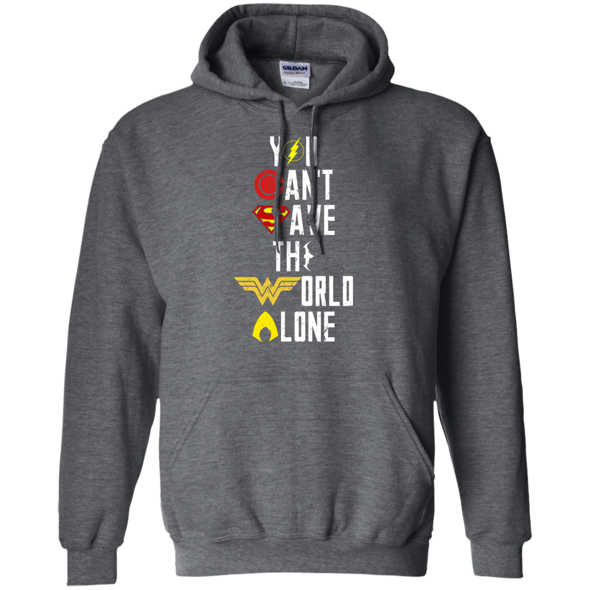image 28px Justice League: You Can Save The World A Lone T Shirts, Hoodies, Sweaters