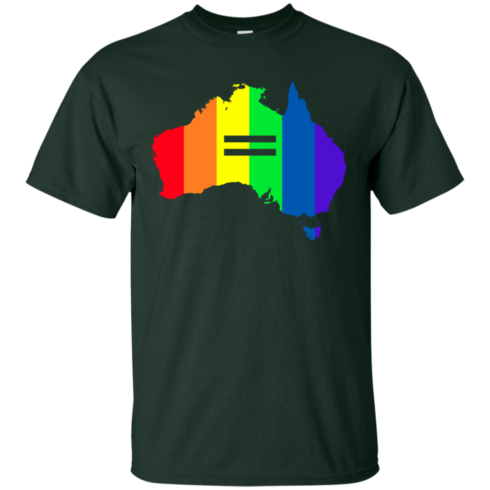 image 280 490x490px LGBT equality Australia T Shirts, Hoodies, Tank Top