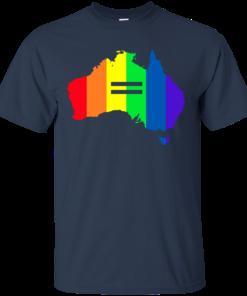 image 281 247x296px LGBT equality Australia T Shirts, Hoodies, Tank Top
