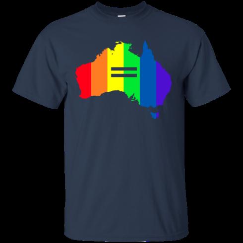 image 281 490x490px LGBT equality Australia T Shirts, Hoodies, Tank Top