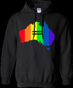 image 282 247x296px LGBT equality Australia T Shirts, Hoodies, Tank Top