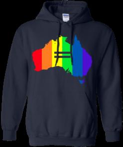 image 283 247x296px LGBT equality Australia T Shirts, Hoodies, Tank Top