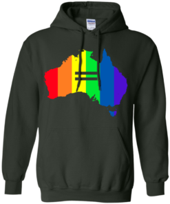 image 284 247x296px LGBT equality Australia T Shirts, Hoodies, Tank Top