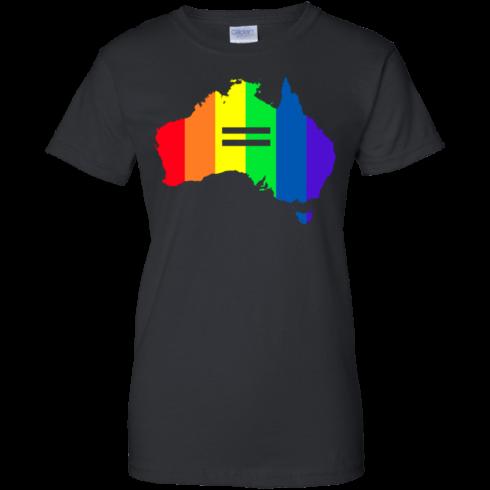 image 287 490x490px LGBT equality Australia T Shirts, Hoodies, Tank Top