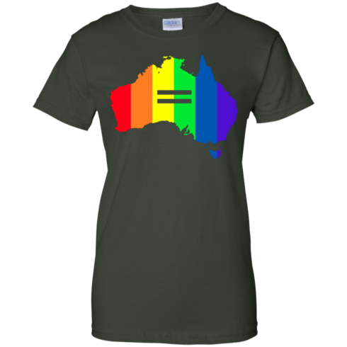 image 288 490x490px LGBT equality Australia T Shirts, Hoodies, Tank Top
