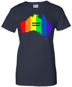 image 289 247x296px LGBT equality Australia T Shirts, Hoodies, Tank Top