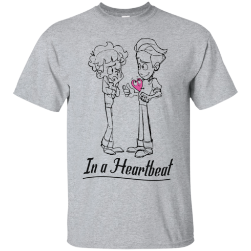 image 292 490x490px In A Heartbeat LGBT T Shirts, Hoodies, Tank Top