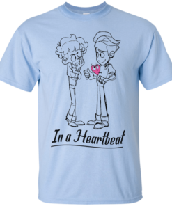 image 294 247x296px In A Heartbeat LGBT T Shirts, Hoodies, Tank Top