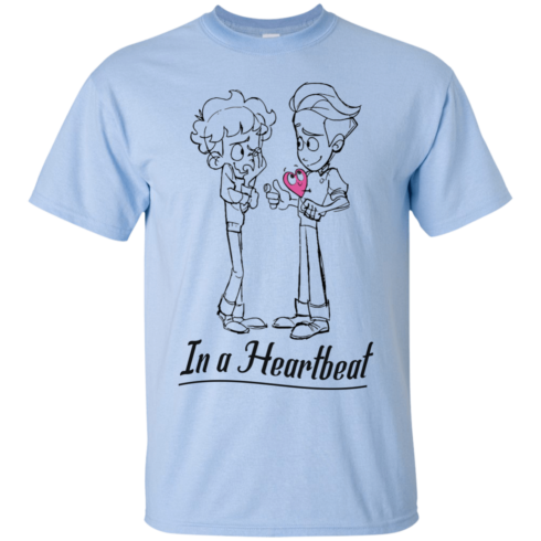 image 294 490x490px In A Heartbeat LGBT T Shirts, Hoodies, Tank Top