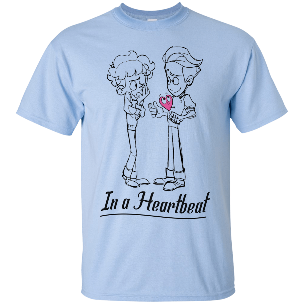 image 294px In A Heartbeat LGBT T Shirts, Hoodies, Tank Top