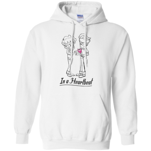 image 296 490x490px In A Heartbeat LGBT T Shirts, Hoodies, Tank Top