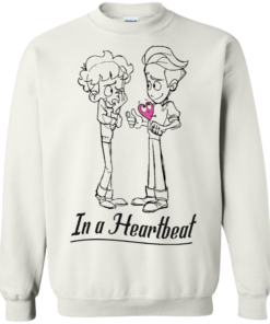 image 299 247x296px In A Heartbeat LGBT T Shirts, Hoodies, Tank Top