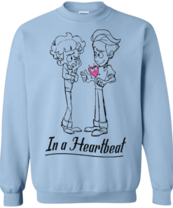 image 300 247x296px In A Heartbeat LGBT T Shirts, Hoodies, Tank Top