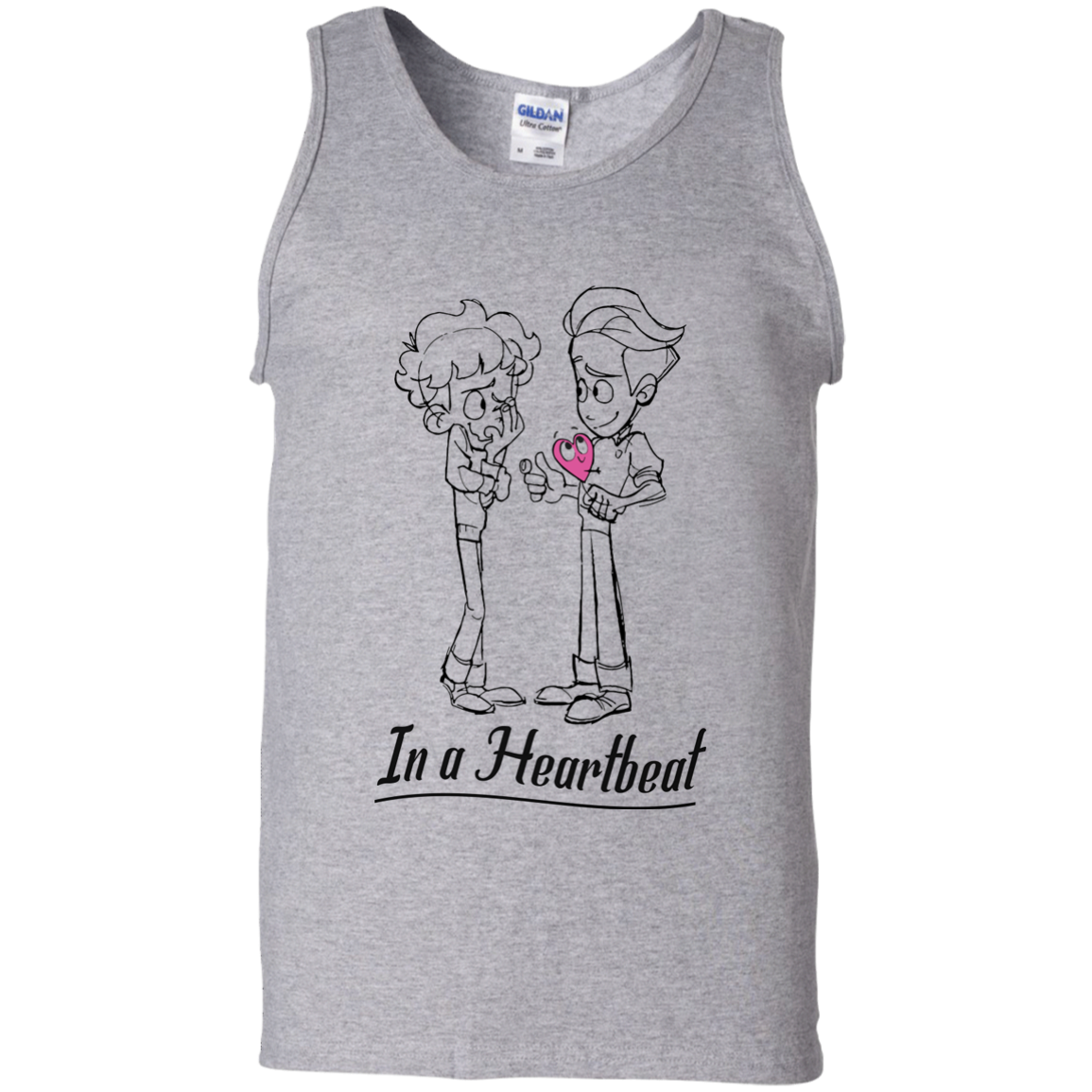 image 301px In A Heartbeat LGBT T Shirts, Hoodies, Tank Top