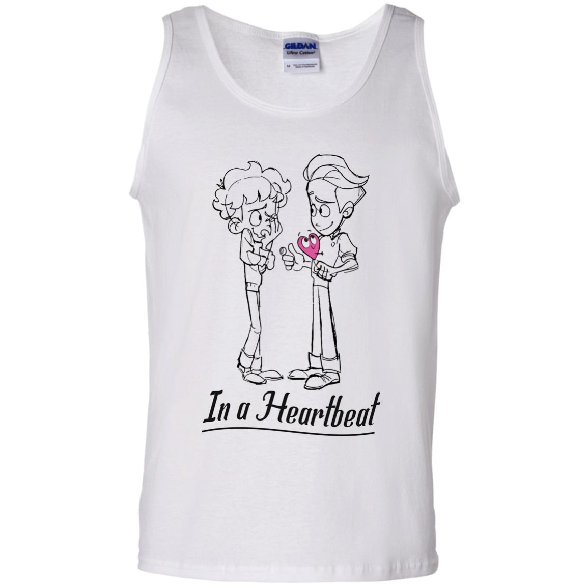 image 302px In A Heartbeat LGBT T Shirts, Hoodies, Tank Top