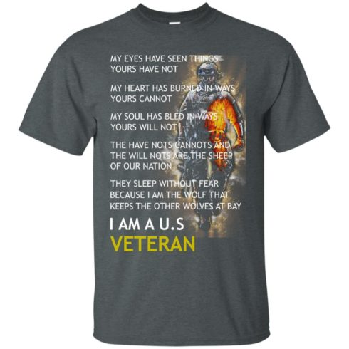 image 304 490x490px I Am A US Veteran My Eyes Have Seen Things Yours Have Not T Shirts, Hoodies