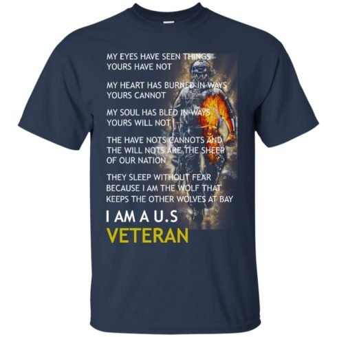 image 305 490x490px I Am A US Veteran My Eyes Have Seen Things Yours Have Not T Shirts, Hoodies