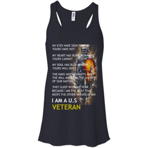 image 307 490x490px I Am A US Veteran My Eyes Have Seen Things Yours Have Not T Shirts, Hoodies