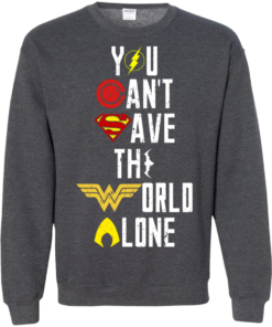 image 31 247x296px Justice League: You Can Save The World A Lone T Shirts, Hoodies, Sweaters