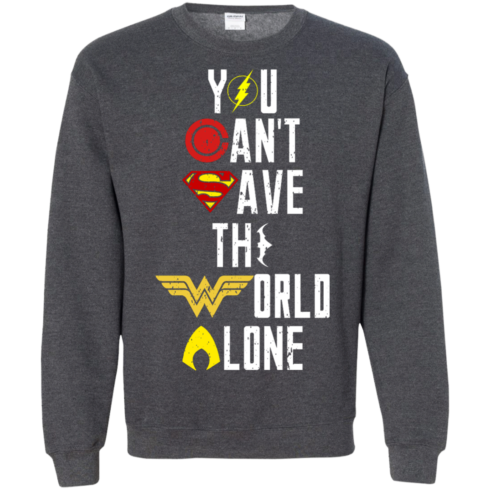 image 31 490x490px Justice League: You Can Save The World A Lone T Shirts, Hoodies, Sweaters