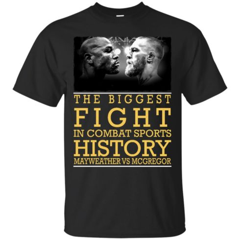 image 314 490x490px Mcgregor vs Mayweather The Biggest Fight In Combat Sports History T Shirts, Hoodies