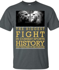 image 315 247x296px Mcgregor vs Mayweather The Biggest Fight In Combat Sports History T Shirts, Hoodies
