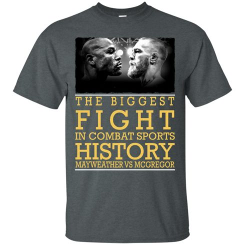 image 315 490x490px Mcgregor vs Mayweather The Biggest Fight In Combat Sports History T Shirts, Hoodies
