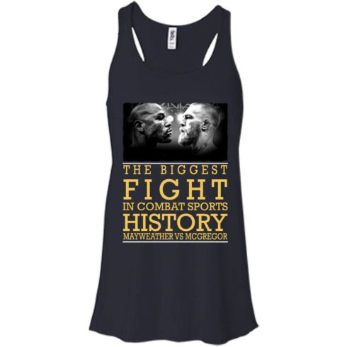 image 318 490x490px Mcgregor vs Mayweather The Biggest Fight In Combat Sports History T Shirts, Hoodies